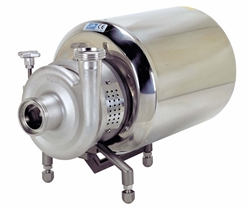 Hygienic centrifugal pumps and sanitary self priming pumps